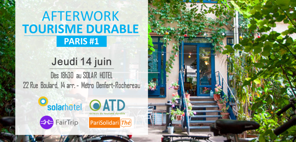 AFTERWORK TOURISME DURABLE - PARIS