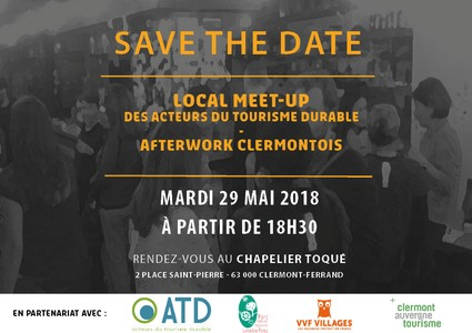 Meet-up local clermontois, 1er afterwork du tourisme durable...