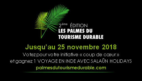 PALMES DU TOURISME DURABLE : Place au vote du public !